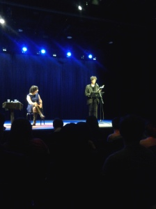 Neil Gaiman reading from Ocean at the End of the Lane.