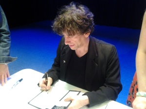 Also, sometimes Neil Gaiman will draw monsters in your book.