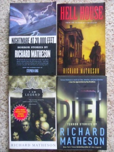 The Richard Matheson books I own.