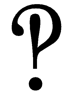 The glorious interrobang.