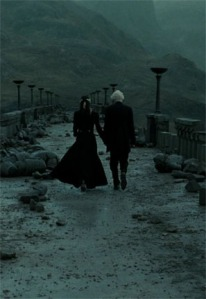 Narcissa goes to great lengths to get Draco out of the war alive. Screencap from homeofthenutty.com.